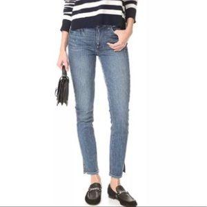 Paige Hoxton Ankle Peg Side Slit Jeans 24